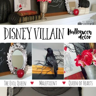 A Halloween Mantel {inspired by my favorite Villains}