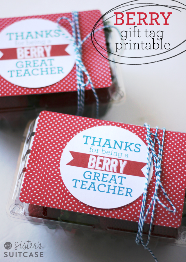 Berry Great Teacher tags