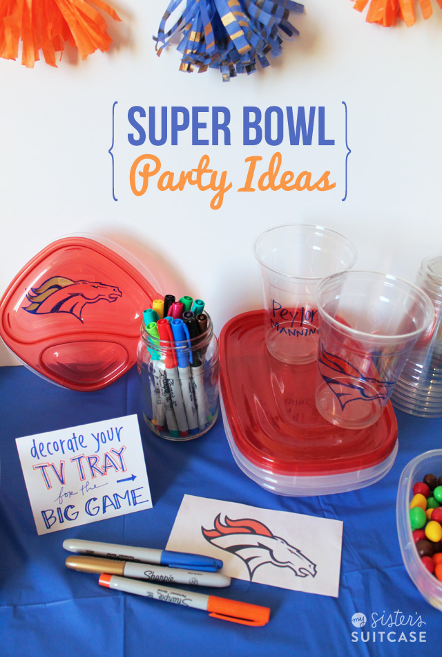 Super Bowl Party Ideas My Sister 39 S Suitcase Packed