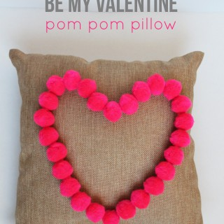 $5 Friday: Heart Pom Pom Pillow