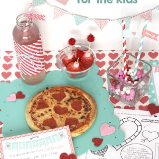 Valentines Dinner for Kids + Ultimate Printable Pack