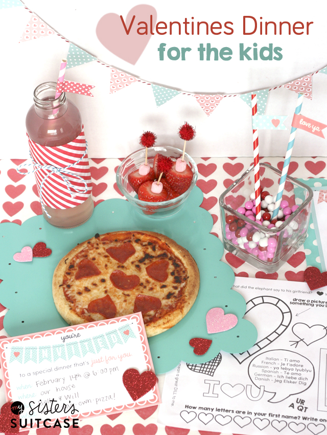 valentine dinner ideas valentines dinner for ultimate printable pack my 30558