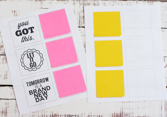 post it note printables you got this my sister 39 s. Black Bedroom Furniture Sets. Home Design Ideas
