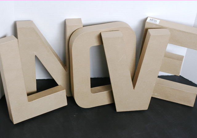 diy marquee letters for valentines and christmas my With large cardboard marquee letters
