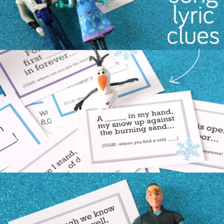 FROZEN Game – Printable Scavenger Hunt