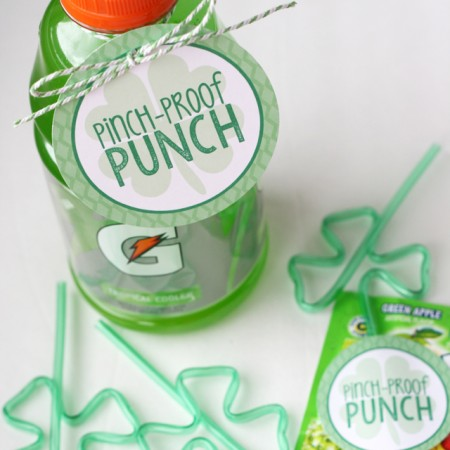 Pinch-Proof Punch for St. Patrick's Day