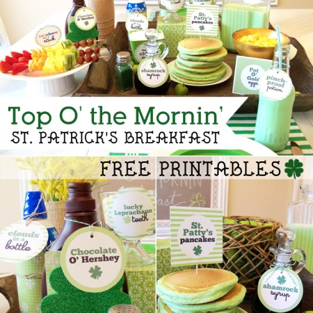 St. Patrick's Day Breakfast Ideas