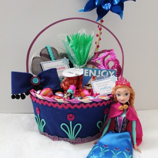 FROZEN Anna Easter Basket