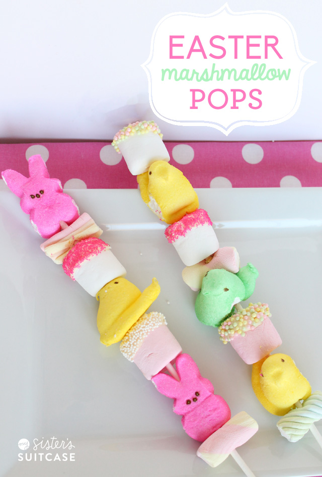 How fun are these?? I had a blast making these marshmallow pops with ...