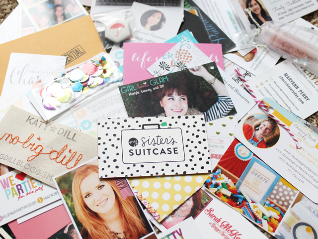 Snap business cards