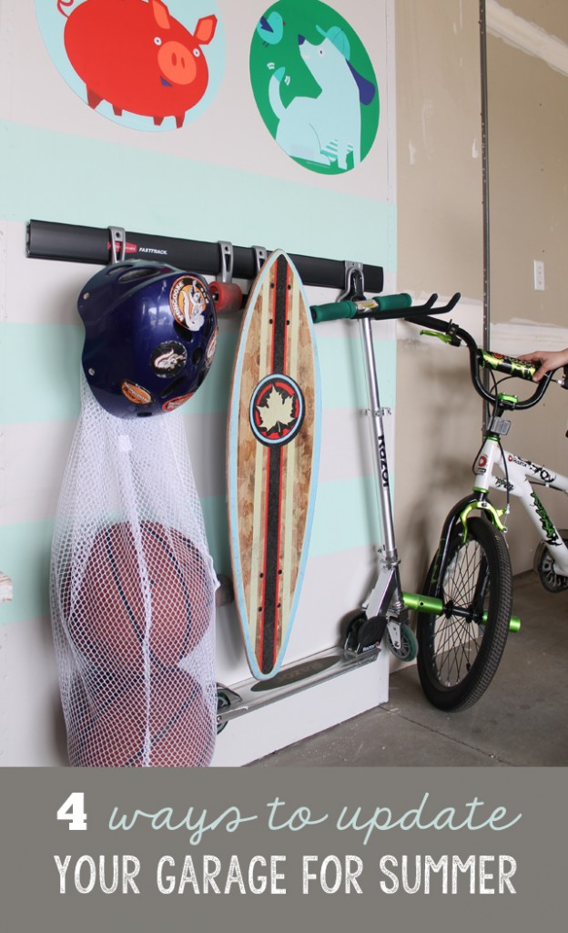 4 ways to update garage for summer