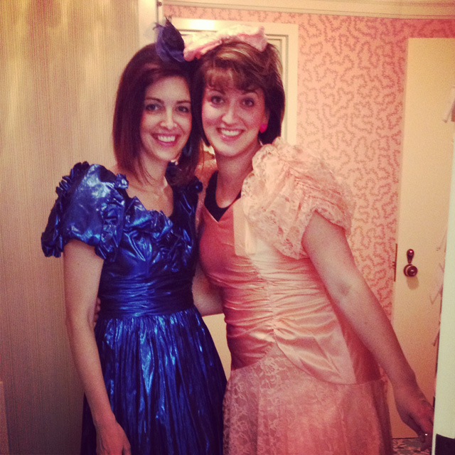 80s prom sisters