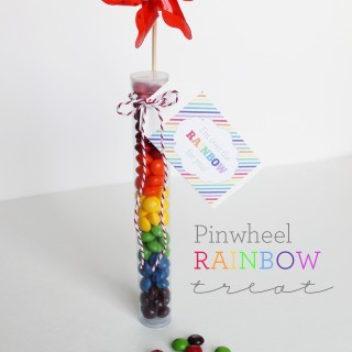 DIY Rainbow Treats & Printables for Spring!