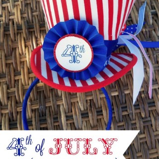 {Uncle Sam Hat} and 4th of July Printables!