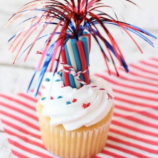 4th of July Fireworks & Cupcake Toppers