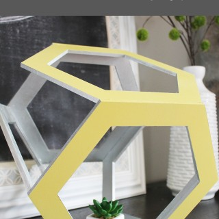 DIY Hexagon Decor Ideas