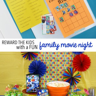 Reward Kids With A Family Movie Night