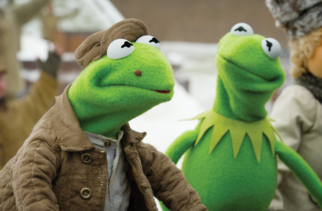 Constantine and Kermit_Muppets Most Wanted