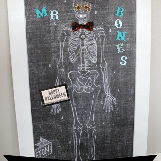 Mr. Bones {Magnetic Skeleton for Kids}