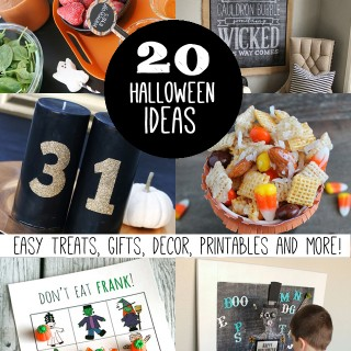 20+ Halloween Ideas – Decor, Gifts, Printables and More!