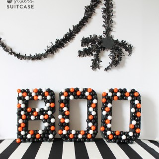 Halloween Gumball Letters