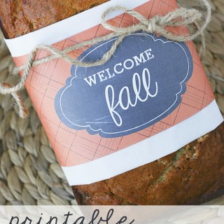 Fall Treat Labels + Fall Printable Blog Hop
