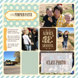 Saturday Share #8 : Fall Layouts & Digital Project Life SALE