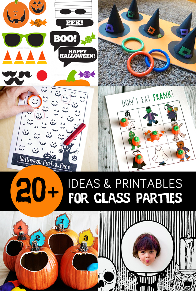 Printable Halloween Classroom Decorations ~ Math activity book for class lab activities