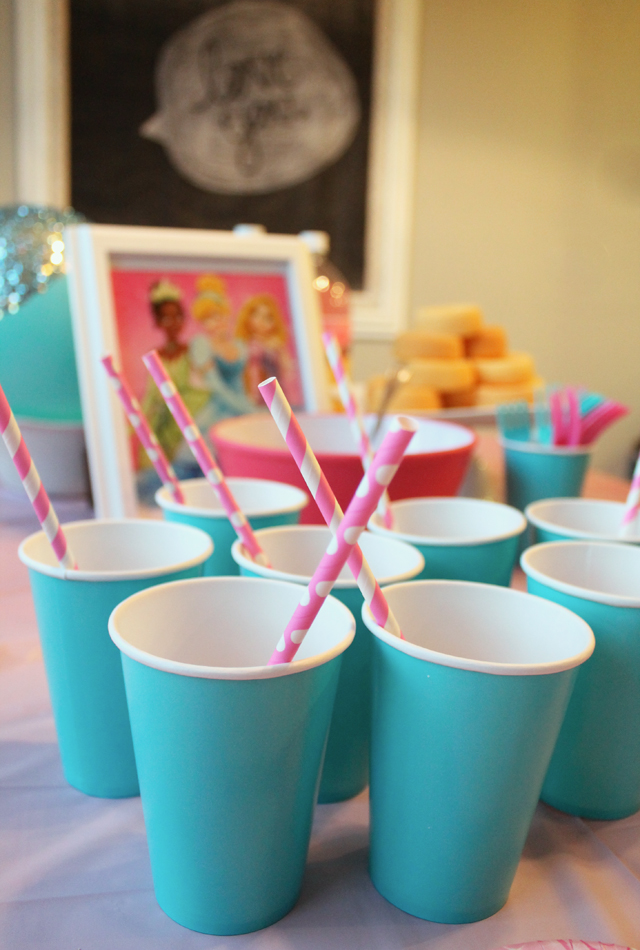 cups and straws