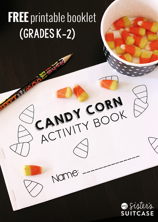 Printable Candy Corn Math Activities - My Sister's Suitcase - Packed ...