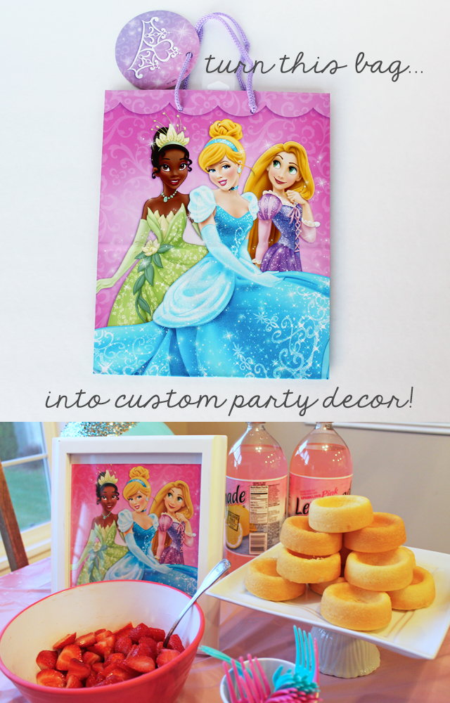 gift bag to party decor