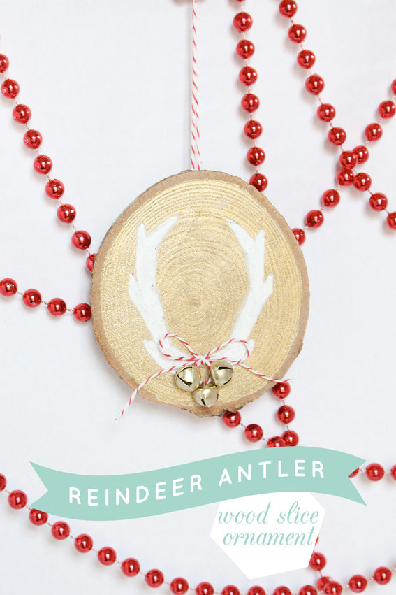 Reindeer-Antler-Wood-Slice-Ornament-Title