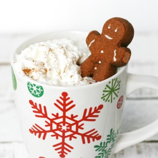 Gingerbread Hot Chocolate Stirrers