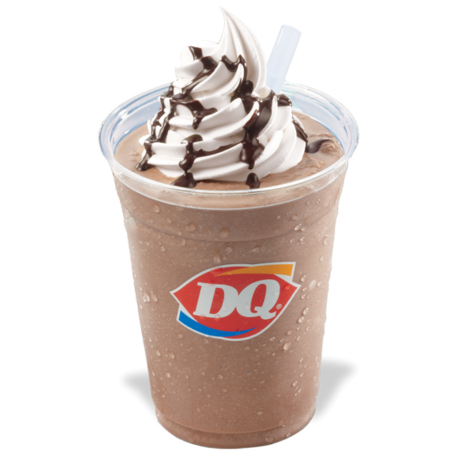 frozen hot chocolate DQ