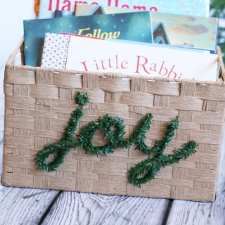 DIY Christmas Book Box