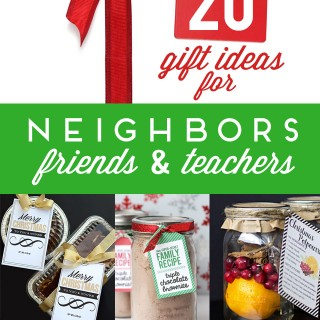 20 Neighbor Gift Ideas for Christmas