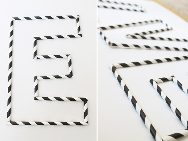 glue together straws