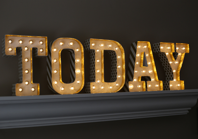 Lighted Marquee Letters Love