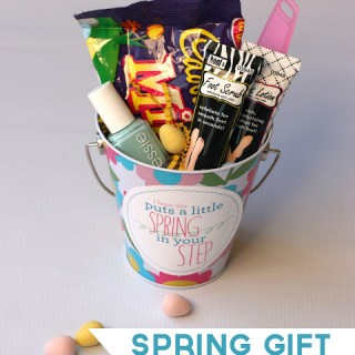 Spring Gift Idea and Printable Tag