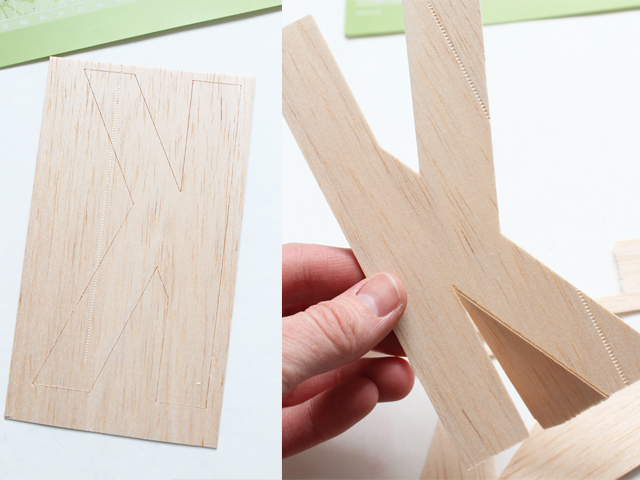 how to cut wood with the cricut explore my sister39s With balsa wood letters