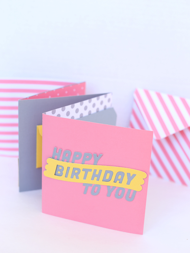 how to make an envelope for any size card