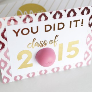 EOS Graduation Card with the Heidi Swapp Minc