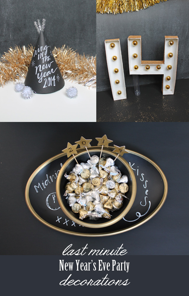 Last minute new year 39 s eve party ideas my sister 39 s for Last minute party ideas