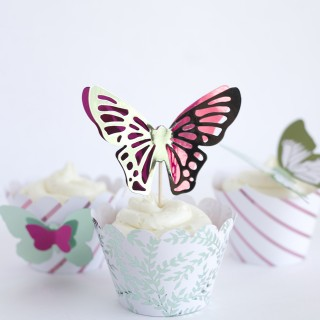Butterfly Cupcakes with Heidi Swapp Minc