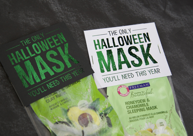The only Halloween Mask you'll need this year! What a cute Halloween gift idea!
