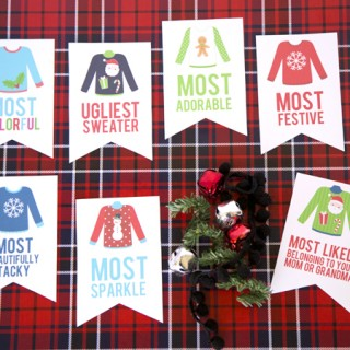 Ugly Sweater Party Awards