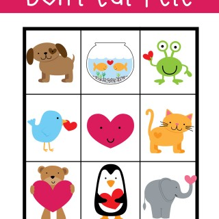 Don't Eat Pete – Printable Valentine's Day Game