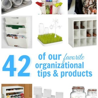 42 Ways to Get Organized + HUGE Amazon Giveaway