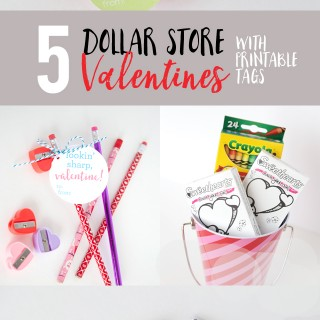 More Dollar Store Valentine Ideas
