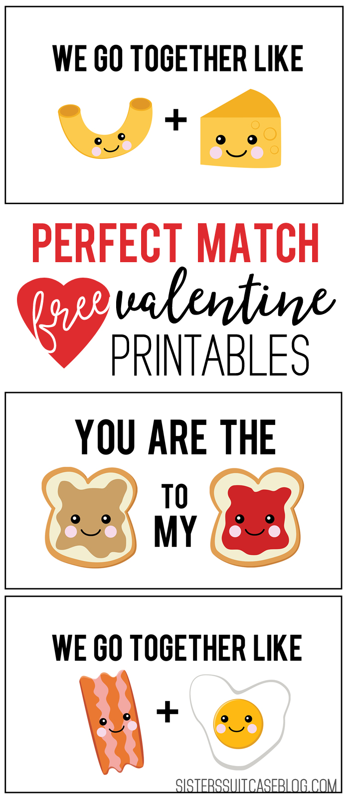 Perfect Match Valentines